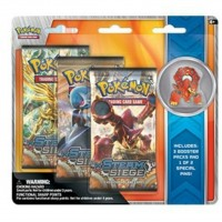 Pokemon TCG Volcanion Shiny Mega Gardevoir + Pins