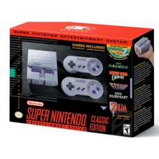 Super Nintendo Entertainment System (SNES) Classic Edition (NEW!!)