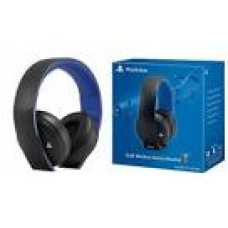 Playstation GOLD Wireless Headset (BLACK) DOLBY 7.1 (box agak penyok)