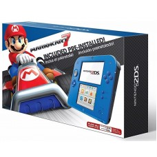 2DS Blue/Black Preinstalled Mario Kart 7