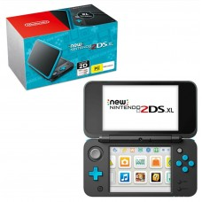 New 2DS-XL Black/Turquoise (PAL Version) + Game Luigi Mansion