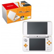 New 2DS-XL White/Orange + Game Zelda Trifoce Heroes