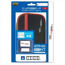 New 3DS-XL Compact HORI Pouch (Red)
