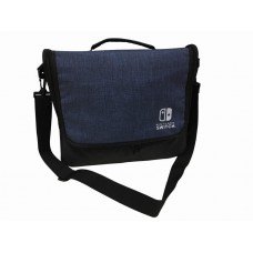 Switch Cotton Shoulder Bag with Compartment