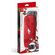 Carrying Case & Screen Protector Super Mario Odyssey version