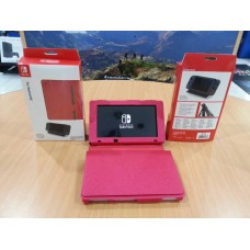 Switch Leather Case (Red)