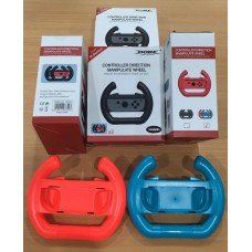 Switch Steering wheel Red/Blue (DOBE) 2pcs/pack
