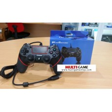 PS4/PS3 Wired Controller Black/Red