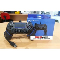 PS4/PS3 Wired Controller Black/Blue
