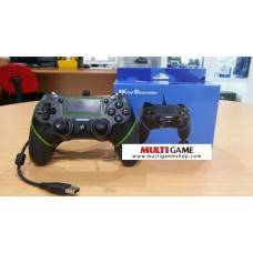 PS4/PS3 Wired Controller Black/Green