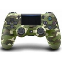 (PROMO 18Mei-02Juni) DS4 New Dual Shock 4 Light Versi 2 (Green Camouflage) New Model
