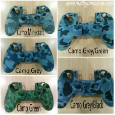 PS4 Silicon Camouflage with Grip touch