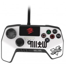 PS4/PS3 Fighting Pro Controller (MADCATZ) White
