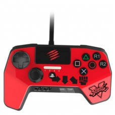 PS4/PS3 Fighting Pro Controller (MADCATZ) Red