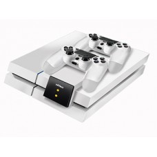 NYKO PS4 Modular Charge Station ( White ) (Console+Controller not included)