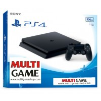 PS4 Slim 500GB (CUH-2106A) Jet Black + God War3 Digital + PSN 3Bulan Digital