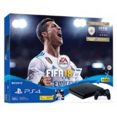 PS4 Slim 500GB (CUH-2106A) Bundle FIFA 18 (include Game Fisik & Icons + PSN 3Bulan)
