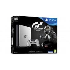 PS4 Slim 1TB (CUH-2006B) Silver/Black Gran Turismo Edition + PSN 12 Bulan + Game GT Sports (R3)