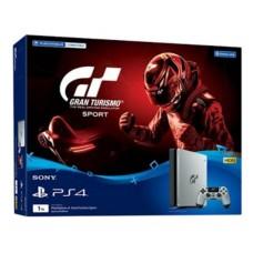 PS4 Slim 1TB (CUH-2006B) Silver/Black Gran Turismo Edition + PSN 12 Bulan + Game GT Sports + Payung + Extra New DS4  Pilih Warna