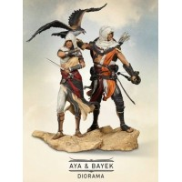 Assassin Creed Origins Aya + Bayek Protector Of Egypt (Figure Only) Bonus Apple of Eden