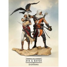 Assassin Creed Origins Aya + Bayek Protector Of Egypt (Figure Only) Bonus Apple of Eden