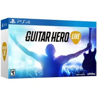 Guitar Hero Live Game + Guitar Bundle (Rating 7.9)