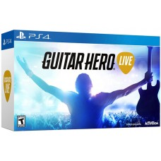 Guitar Hero Live Game + Guitar Bundle (Rating 7.9) (Music)