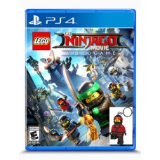 Lego Ninjago Movie Video Game + Mini Figure Kai Keychain