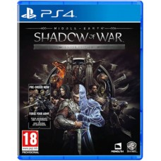 Middle Earth Shadow of War Silver Edition + Ring