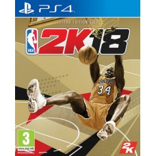 NBA 2K18 Legend GOLD Edition + Keychain Bola