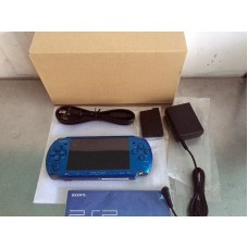 PSP SCPH-3000 Blue (Refurbish from Sony) + Pouch SONY