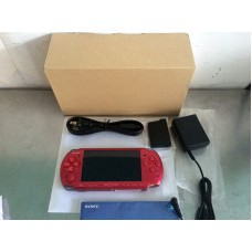 PSP SCPH-3000 Red (Refurbish from Sony) + Pouch SONY