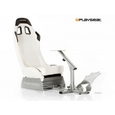 Playseat® Evolution White Vinyl Silver Frame