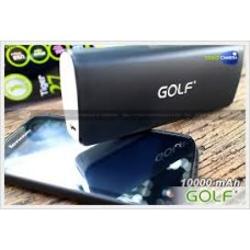 GOLF 10.000 mAh (Black) (mobile phone not included)