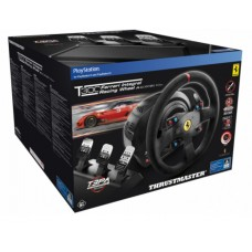 Thrustmaster T300 Ferrari Alcantara Bundle with 3Metal Pedal