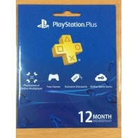 PSN Plus 12Months USA (Physical Card)