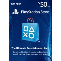 PSN USD 50,- R1 USA (Physical Card)