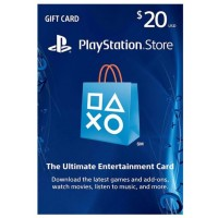 PSN USD 20,- R1 USA (Physical Card) (Ready)