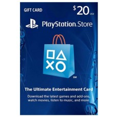 PSN USD 20,- R1 US (Physical Card) (Ready)