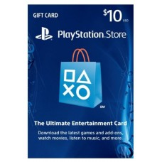 PSN USD 10,- R1 US (Physical Card) (Ready)