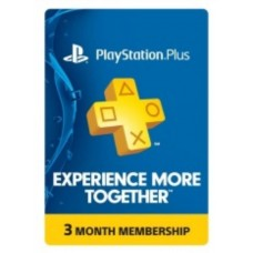 PSN Plus 3 Bulan R1 USA (Digital Code)