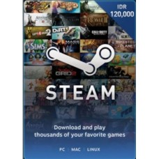 Steam Rp 120.000,- (Digital Code)
