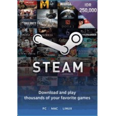 Steam Rp 250.000,- (Digital Code)