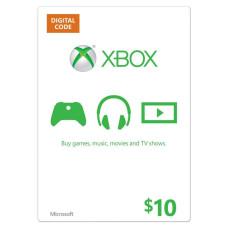 Xbox Live USD 10,-