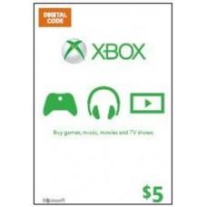 Xbox Live USD 5,- (Digital Code)