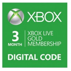 Xbox Live 3Bulan (Digital Code)
