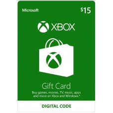 Xbox Live USD 15,- (Digital Code)