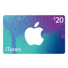 ITunes USD 20,-