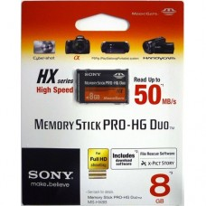 SONY Memory Stick Pro HG Duo  8GB (MS-HX8B)