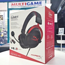 Gaming Headset Hyper-X Cloud II Wired Red/Black